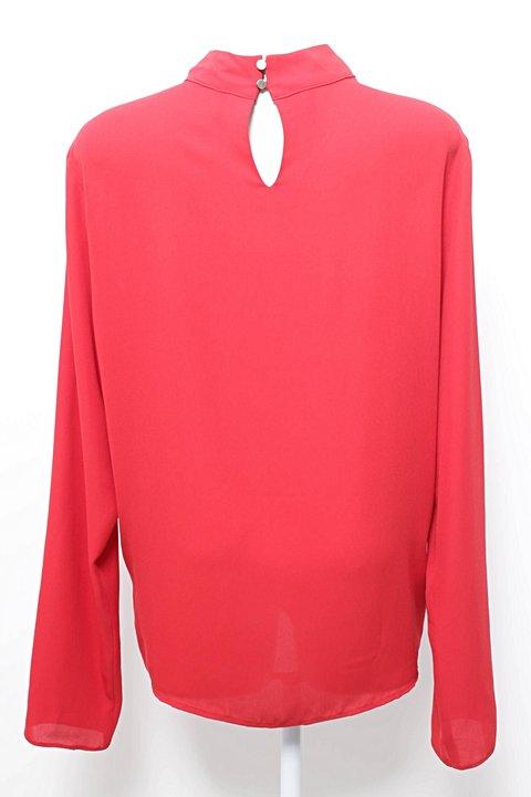 Blusinha Vermelha Amaro_foto de frente