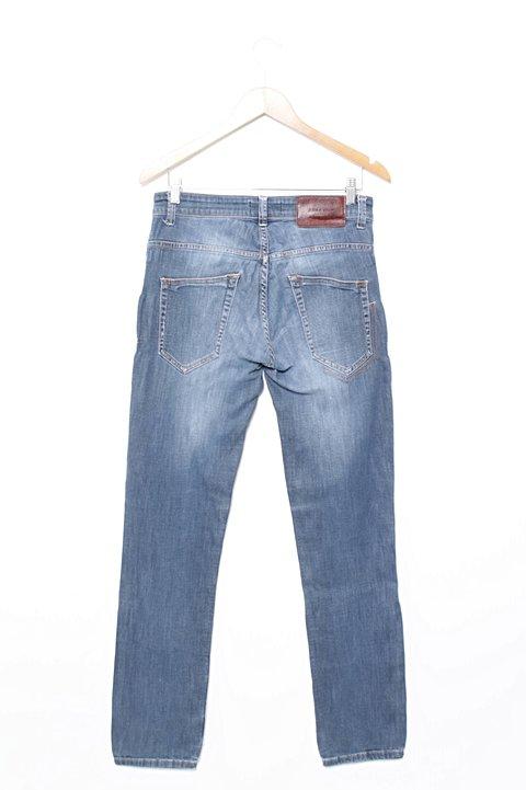 Calça Jeans Azul Zara _foto de frente