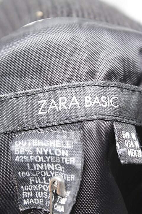Jaqueta Preta Zara_foto de costas