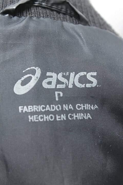 Colete Masculino Preto Asics_foto de costas