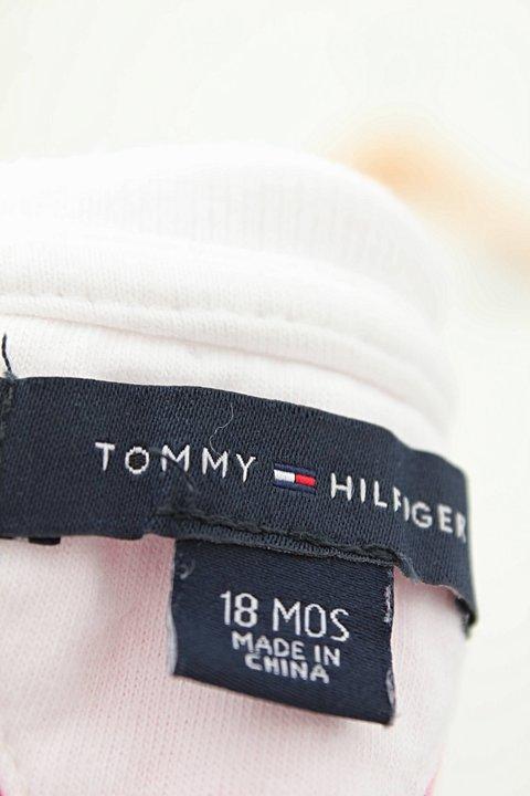 Vestido Polo Tommy Hilfiger Listras Com Calcinha_foto de detalhe