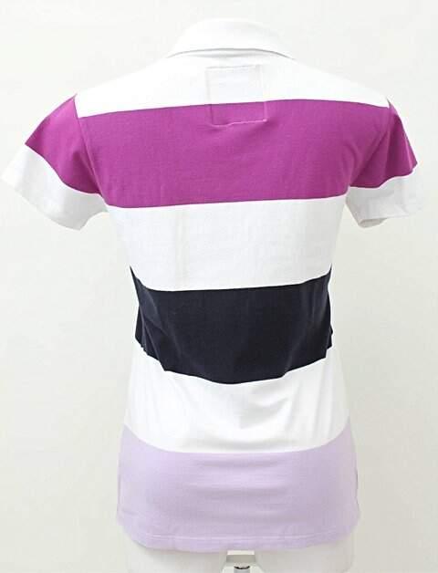 Camiseta Polo Listras Grossas_foto de frente