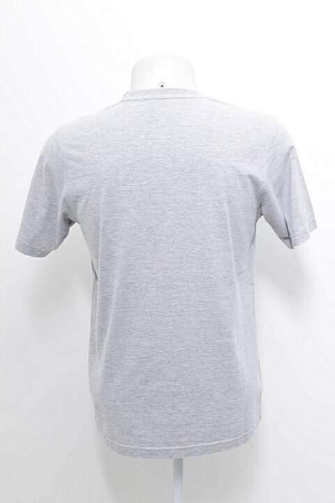Camiseta Cinza Fila _foto de frente