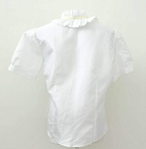 Camisa Babados Branca Divino Efeito_foto de frente
