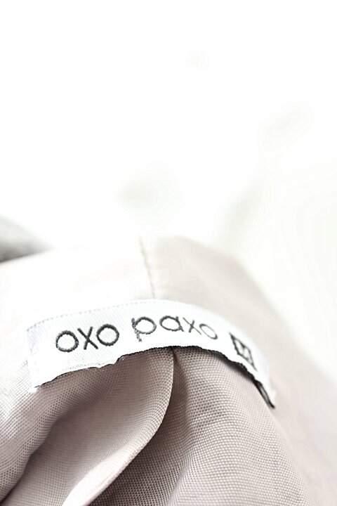 Jaqueta Cinza Oxo Paxo_foto de costas