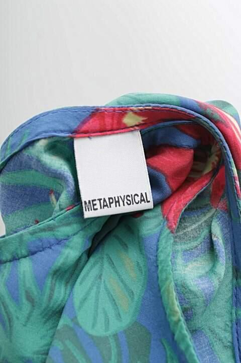 Vestido Metaphysical Estampa Floral _foto de costas