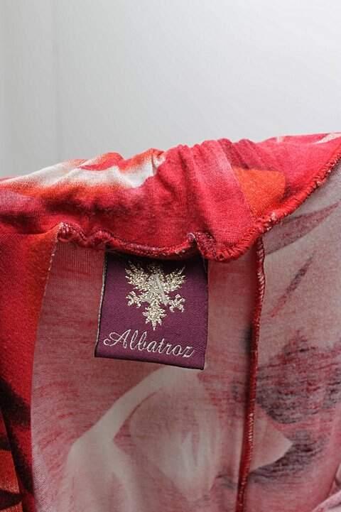 Macacão Longo Malha Estampada Albatroz_foto de costas