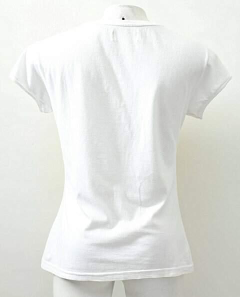 Camiseta Branca Brasil Jinglers_foto de frente