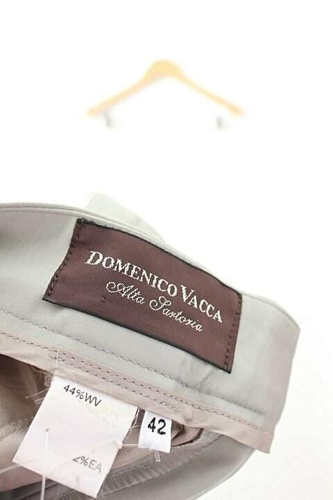 Calça Social Reta Cinza Domenico Vacca_foto de costas