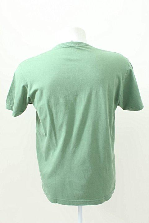 Camiseta AD Life Style verde _foto de frente