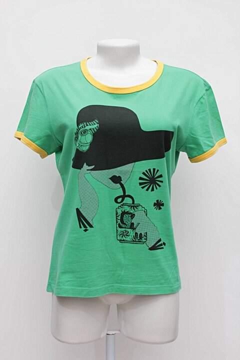 Camiseta Ellus Verde E Amarela - compre por menos  7f5422700c2