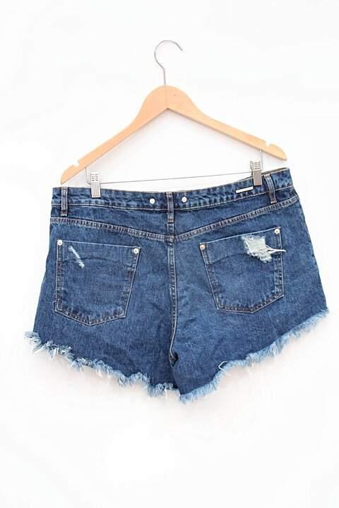 Shorts Jeans Destroyed Animale_foto de frente