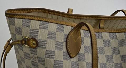 Bolsa LOUIS VUITTON Neverfull GM Azur Original_foto de frente