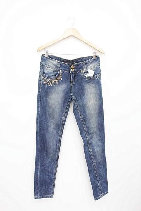 a867a4107 Calça Jeans Riachuelo - compre por menos