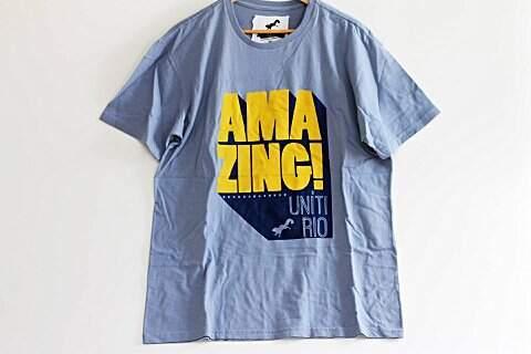 Camiseta Masculina Amazing _foto de frente