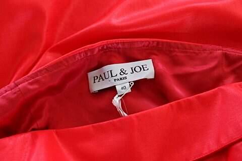 Vestido Vermelho Neon Paul & Joe Paris - TAM 40._foto da etiqueta