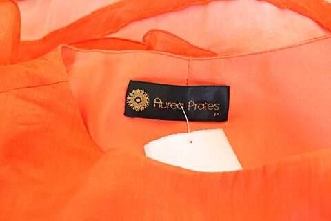 Vestido Aurea Prates Coral - TAM P._foto de detalhe