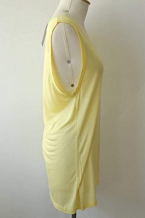 Camiseta de Malha Amarela - TAM 38_foto de frente
