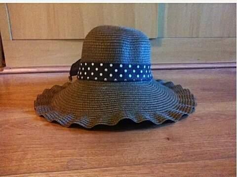Chapéu de Palha Marrom _foto de frente