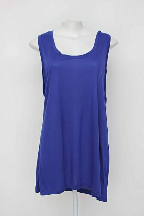 Camiseta de Malha Azul - TAM 42_foto de frente