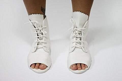 Toe Boots Lacoste Branca_