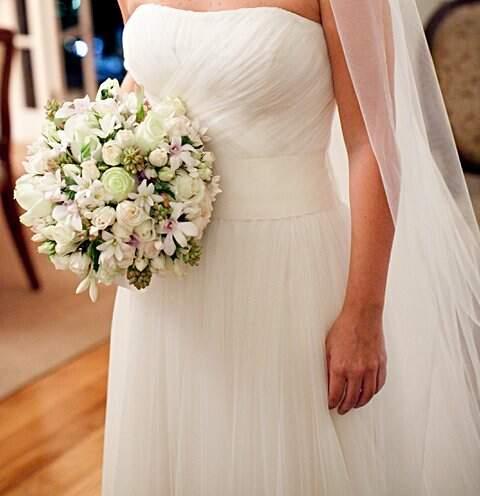 Vestido de Noiva Vera Wang_foto da etiqueta