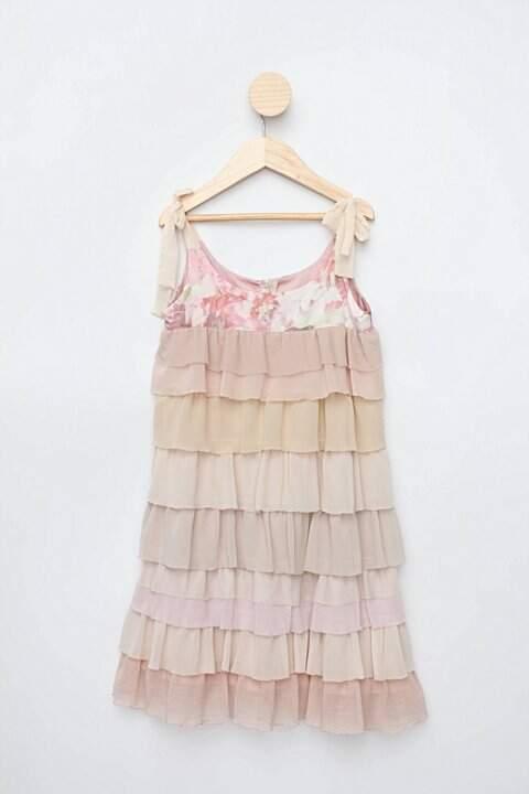 Vestido colorido edy modas_foto de costas