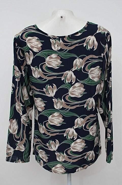 Blusa estampada M&S Fashion_foto de costas