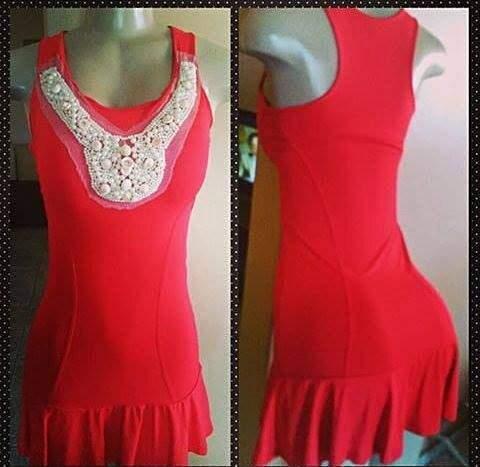 Vestido Justo Vermelho _