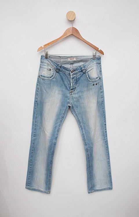 Calça jeans azul osklen_foto principal