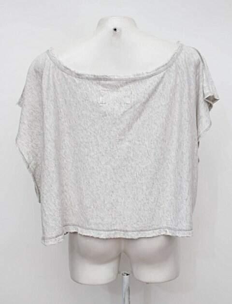 Blusa cinza abercrombie & fitch_foto de costas