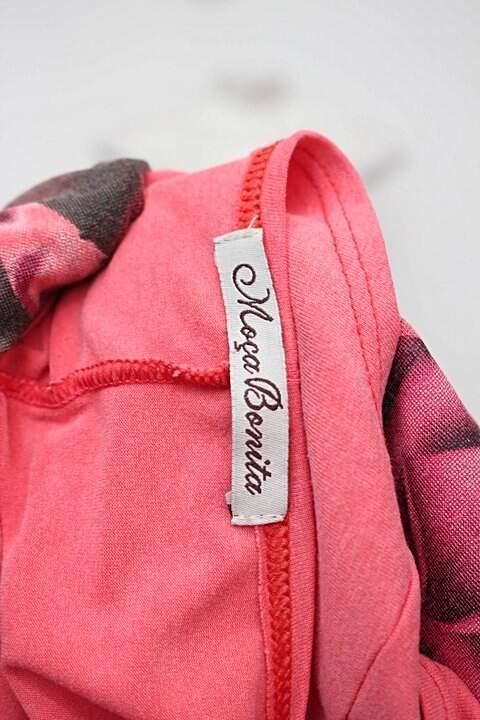 Blusa estampada rosa moça bonita_foto de detalhe