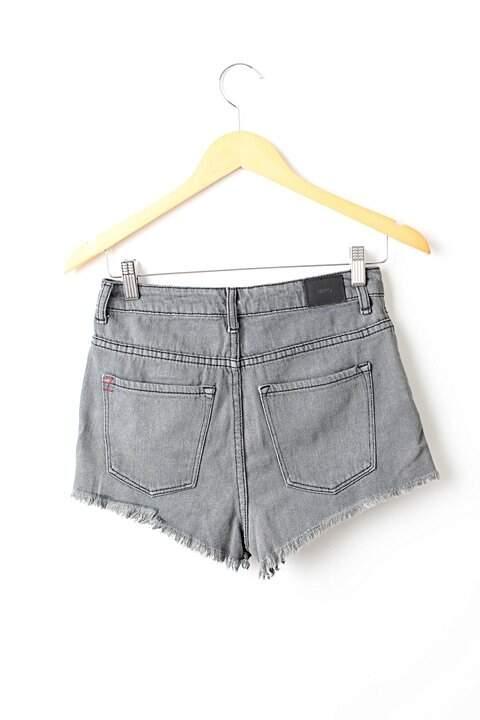 Shorts Chumbo BDG_foto de frente