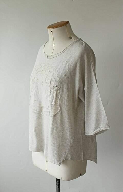 Blusa de Malha Zara_foto de frente
