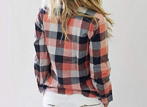 Camisa Xadrez _foto de frente