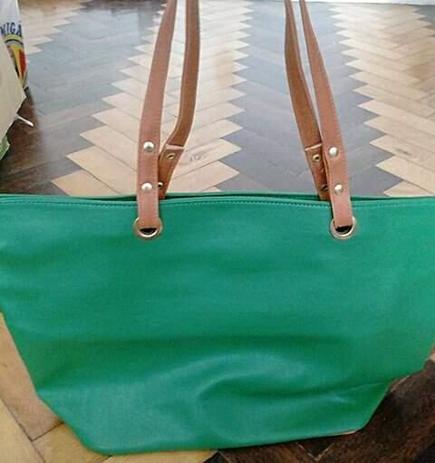 Bolsa Sacola Verde_