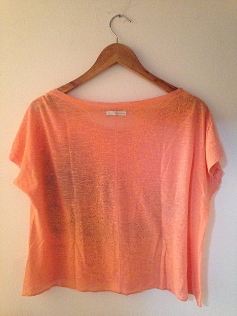 Blusa Calvin Klein Orange_