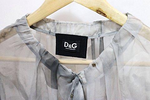 Camisa de Seda Dolce & Gabbana_foto de costas