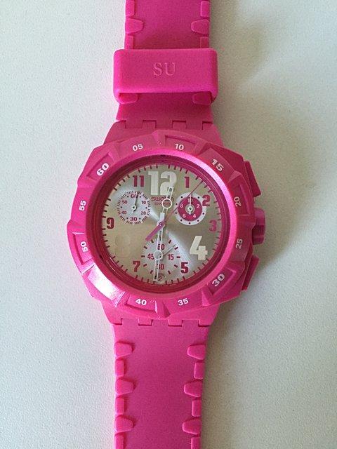 Relógio Swatch PInk_foto principal