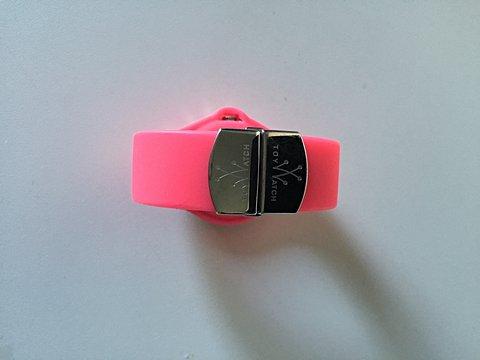 Relógio Toy Watch Pink com Cristais_foto de frente