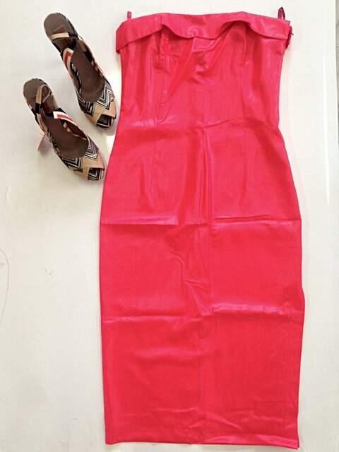 Vestido Vermelho Neon Paul & Joe Paris - TAM 40._foto principal