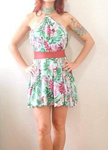 Vestido Floral Frente-Única_foto principal